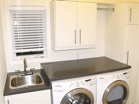 Inexpensive Kitchen Countertop Ideas done with laundry room makeover almost am dolce vita
