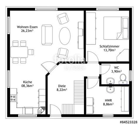 schlafzimmer blueprints quot grundriss haus technische zeichnung quot stockfotos und