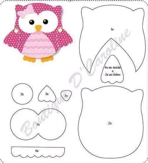 printable owl applique pattern pinterest the world s catalog of ideas