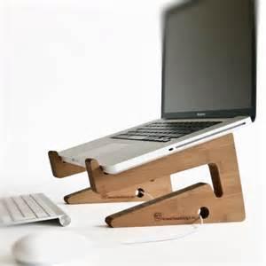 Laptop Riser For Desk Wood Laptop Stand Notebook Riser Beautiful By Greentunadesign