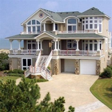gorgeous homes beautiful beach house dreaming pinterest
