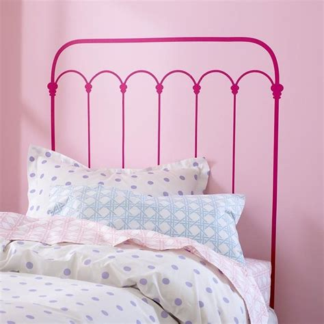 paint a headboard paint a headboard on the wall diy and craftyness