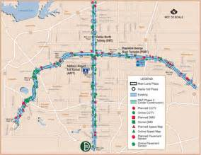 tollway authority map concept of operations for the us 75 integrated corridor in