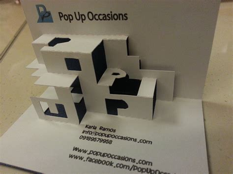 cool  pop  occasions pop  business card pop