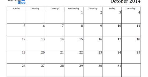 printable weekly calendar october 2014 october 2014 calendar printable excel printable calendar