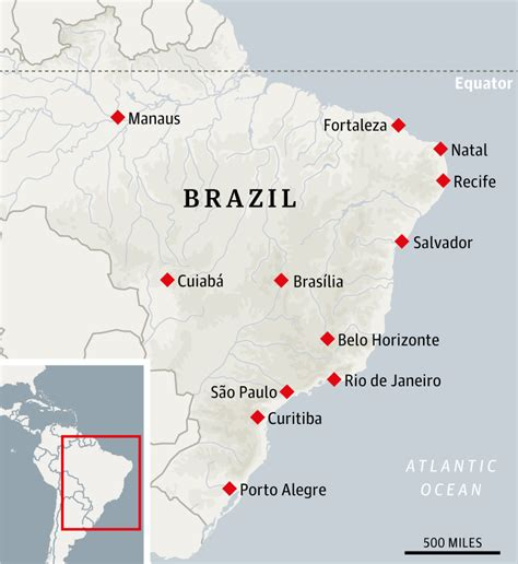 world cup 2014 cities map the complete travel guide to brazil s world cup cities