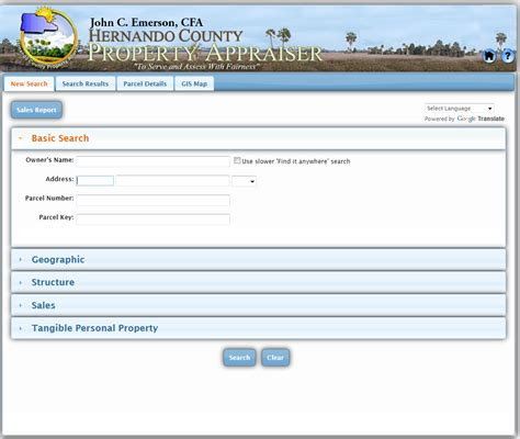 Hernando County Property Tax Records Property Owner Search By Address