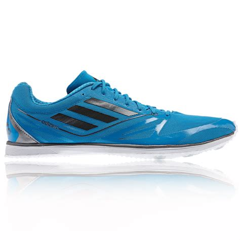 adidas adizero cadence 2 distance mens blue track field spikes shoes ebay