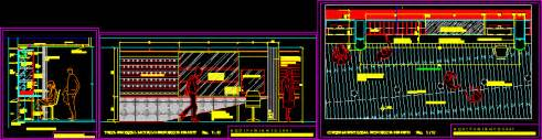 display unit  cd  dvd  dwg detail  autocad