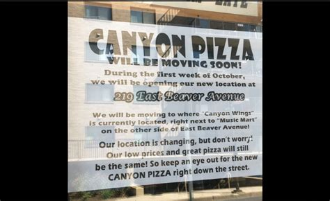 state college pa pizza moving to new home at