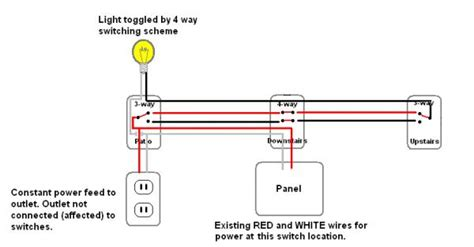 4 way wiring sanity check and wire color question