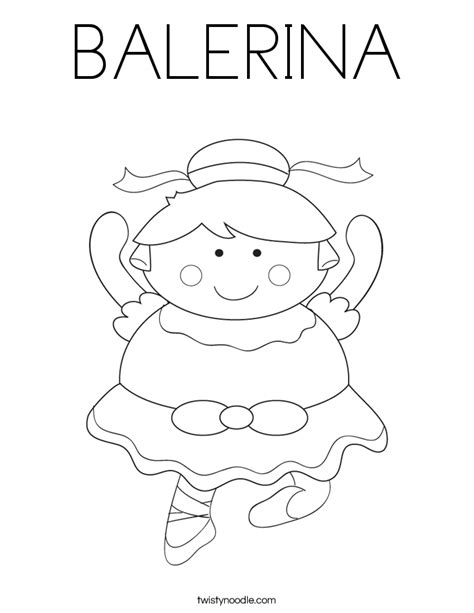 coloring pages of girly things balerina coloring page twisty noodle