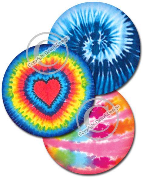 tie dye bottle cap images  magnets  jewelry