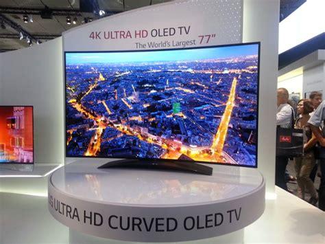 Tv Oled 4k lg 77 quot 4k curved oled tv prototype at ifa 2013 oled info