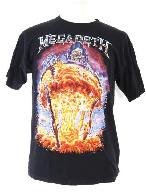 Tshirt Megadeth 5 megadeth countdown to extinction 2012 tour t shirt 5