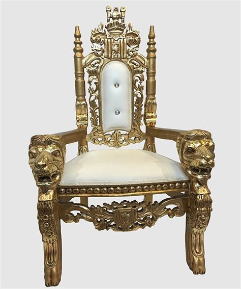 white throne chair kids throne chair gold and white royalty furniture store