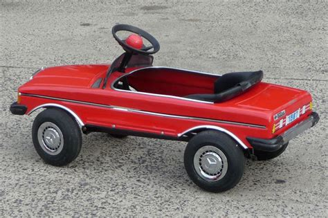 Pedal Car by Sold Pedal Car 1987 Mercedes 500sel Auctions Lot