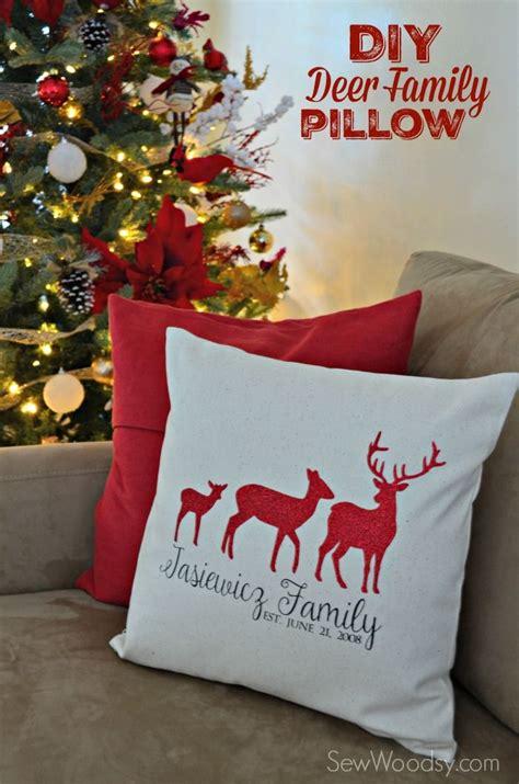 Which Cricut Can Cut Vinyl - diy deer family pillow cover using cricut explore iron