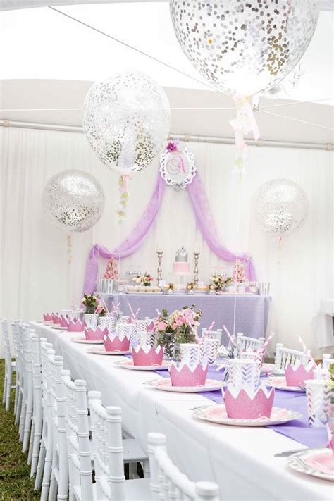 birthday themes elegant kara s party ideas elegant purple princess birthday party
