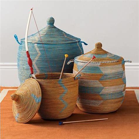 Handmade Baskets - handmade senegalese storage baskets