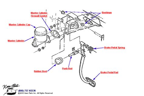 brake pedal assembly diagram brake pedal assembly diagram 28 images keen corvette