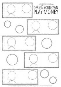 money design template design your own printable play money picklebums