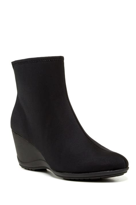impo boots impo eliah stretch wedge boot nordstrom rack