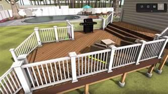 deck designs deck designer deck design tool timbertech