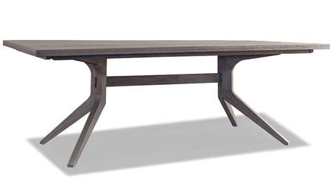 modern trestle dining table brownstone furniture palmer rectangular modern trestle