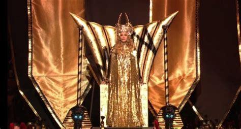 madonna e gli illuminati el show illuminati egipcio de madona en el bowl