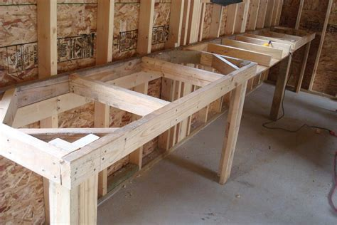 woodwork homemade workbench plans  plans