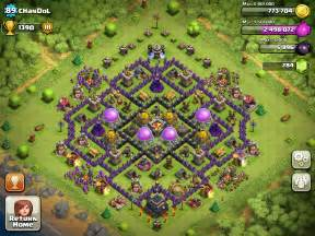 Coc th9 farming base search results web design
