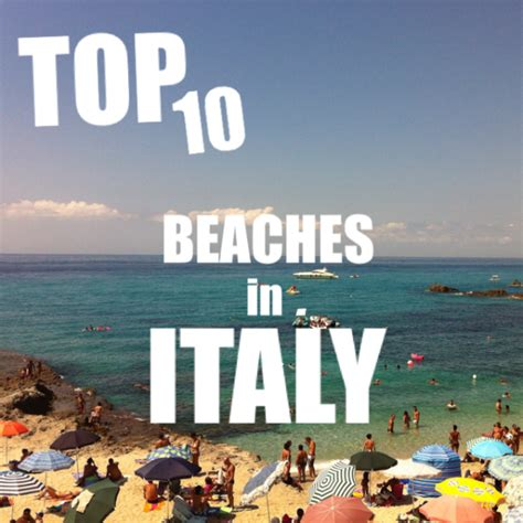 best beaches in italy 10 best beaches in italy
