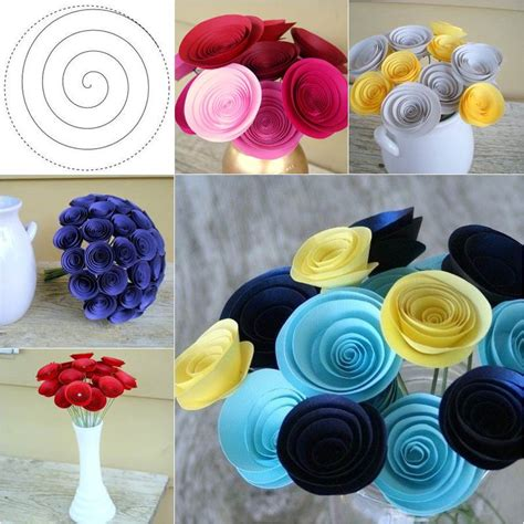 Vintage Mini Chandelier How To Diy Beautiful Swirly Paper Roses
