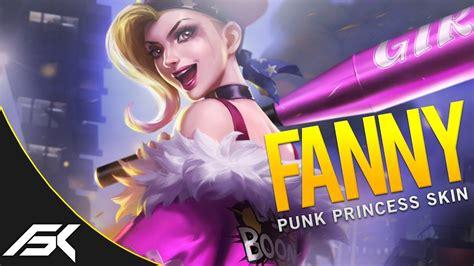 wallpaper mobile legend fanny mobile legends season 3 exclusive fanny punk princess