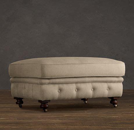 restoration hardware ottoman kensington upholstered ottoman kensington restoration