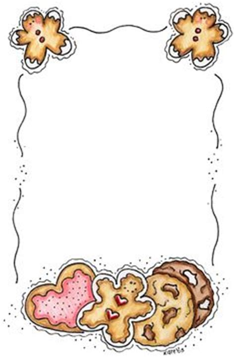free printable gingerbread man border free gingerbread border clip art 80