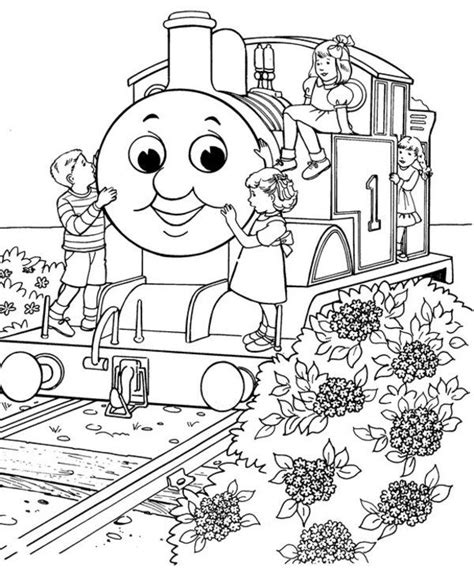 248 best thomas the train images on pinterest coloring
