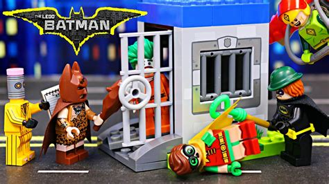 Lego Joker Prison The Batman Lebq Bootleg the lego batman arkham asylum joker escapes with riddler and eraser attacks robin