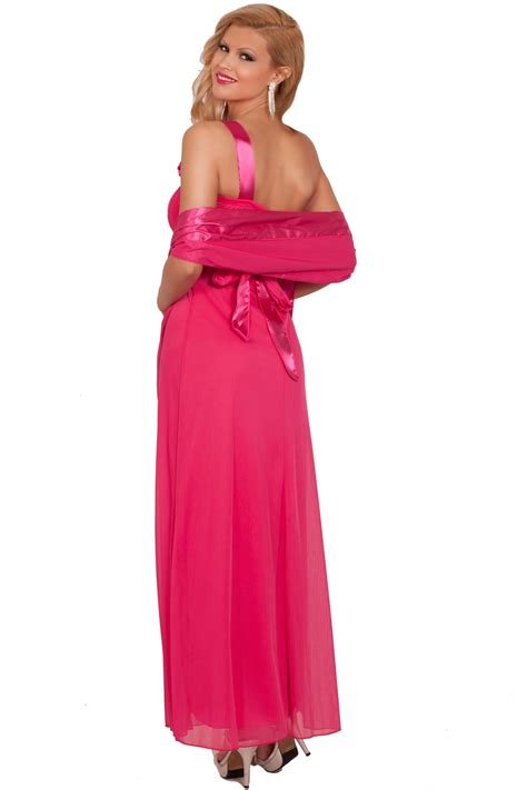 One Shoulder Flower Gown S M L 18193 one shoulder asymmetrical floral length formal evening prom dress s m l hotfromhollywood