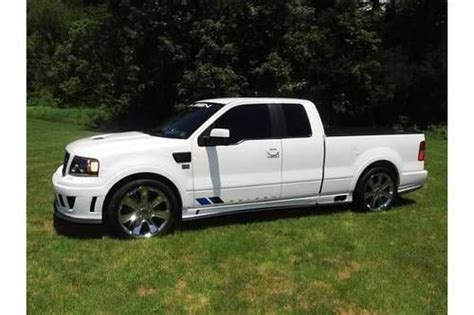 2007 ford f 150 limited edition buy used 2007 ford f 150 saleen s331 white 186