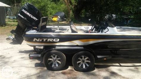 bass boats for sale tallahassee 2008 used nitro 898 bass boat for sale 20 700