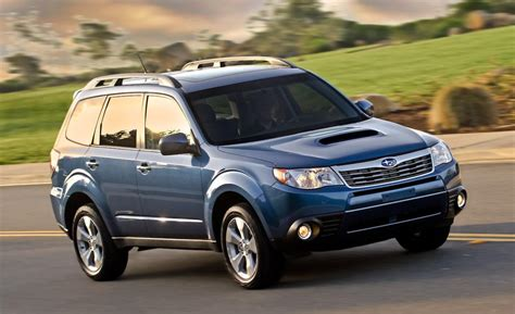 subaru forester 2 5xt car and driver