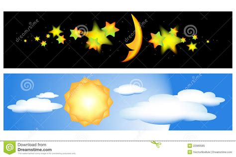 das y noches de banderas del d 237 a y de la noche ilustraci 243 n del vector ilustraci 243 n de camis 243 n sunrise 22989585