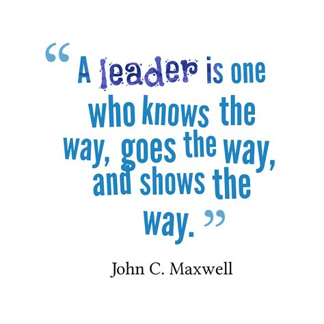 leadership and the one leadership quote