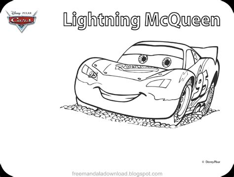lightning mcqueen coloring page disney lightning mcqueen coloring pages free