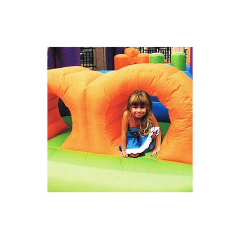 Murah Obstacle Course Bouncer Happy Hop 9063 obstacle course bouncer jumping castles