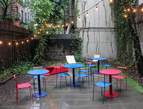 backyard cafe at new york design week 2013 part v the rest sight unseen
