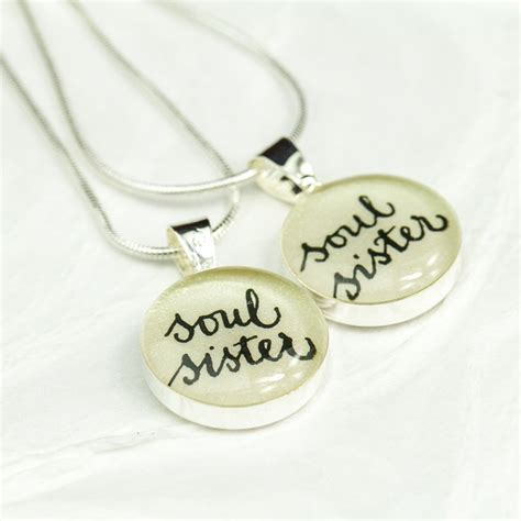 soul necklace gift for best friend bff necklace