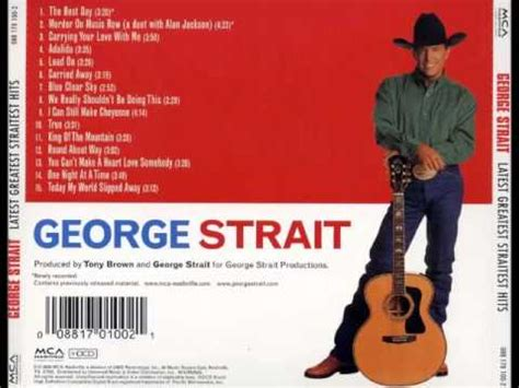 day george george strait the best day